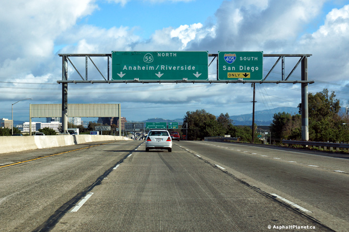 AsphaltPlanet ca > California > State Route 55